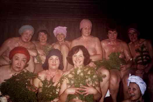 Фото-в женской бане